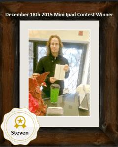 Steven contest winner